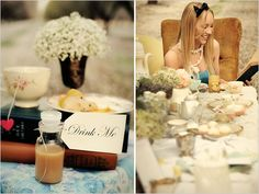 Jessica Frey Photography snapped all these delightful photos for your enjoyment. Alice In Wonderland