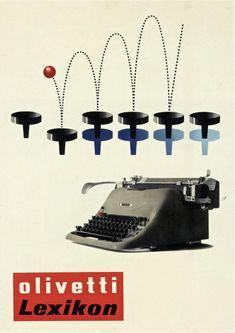 stile olivetti poster - Cerca con Google