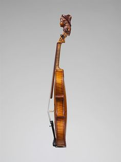 Philip Henry Holmes   Violin   American   The Met A beautifully made and decorated folk fiddle from Gardiner, Maine, 19th century.