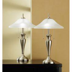 "Artiva USA 24"" Table Lamps (Set of 2) & Reviews   Wayfair"