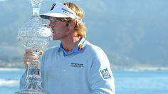 The crystal trophy awarded to the winner of the AT Pebble Beach National Pro-Am, is one of the most coveted on the PGA Tour. Brandt Snedeker took it home this year.