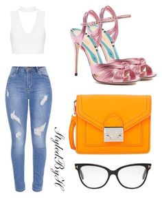 """""""Untitled #277"""" by styledbyhind ❤ liked on Polyvore featuring Gucci, Loeffler Randall and Tom Ford"""