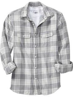 Men's Patterned Flannel Shirts | Old Navy