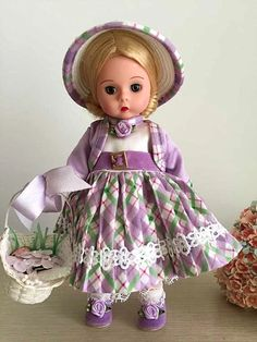 Madame Alexander Doll 複活節