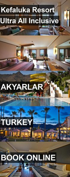 Hotel Kefaluka Resort Ultra All Inclusive in Akyarlar, Turkey. For more information, photos, reviews and best prices please follow the link. #Turkey #Akyarlar #travel #vacation #hotel
