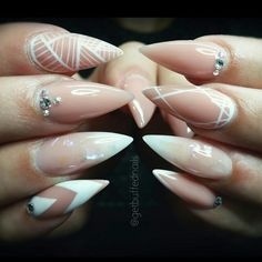 Nude With White Accents