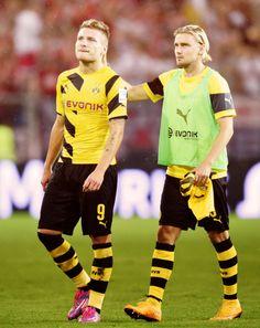 Ciro Immobile & Marcel Schmelzer   #Borussia