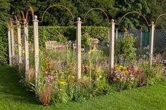 The Sunset Garden, designed by Tamara Bridge, at RHS #TattonPark Flower Show. This beautiful Garden won Tamara the award for young designer of the year!  #RHSGardening