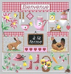 Shop online for Bienvenue a' la Ferme Chart at sewandso.co.uk. Browse our great range of cross stitch and needlecraft products, in stock, with great prices and fast delivery.