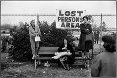 "Pasadena, California, 1963 Elliott Erwitt #ALL.photo""Pasadena, California, 1963,"" right, is a lighthearted meditation on what it means to be ""lost."""