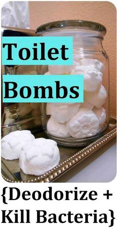DIY Toilet Bombs To Deodorize And Kill Bacteria | Health & Natural Living