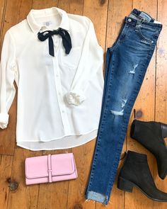 Trends Clothes Back to School Outfits Ideas for Teens - best women style Office Outfits, Stylish Outfits, Cute Outfits, Moda Casual, Casual Chic, Look Fashion, Fashion Outfits, Womens Fashion, Look Star