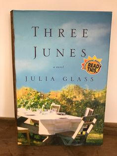 Three Junes by Julia Glass Hardcover) Fiction Novels, Love To Shop, Direct Sales, Online Shopping, June, Community, Reading, Book, Glass