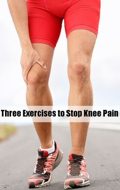 Dr. Oz Shared Three Exercises to Stop Knee Pain.