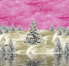 Winter scene -  Happy Christmas images