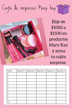Mary Kay Makeup, Skin Care, Business, Products, Crates, Make Up