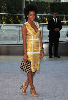 Solange in Marni. You can always on Marni for unique looks.