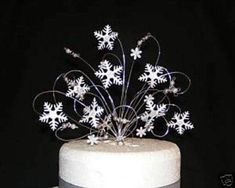 Snowflake Winter Wedding Cake Topper Decoration | Home, Furniture & DIY, Wedding Supplies, Other Wedding Supplies | eBay!