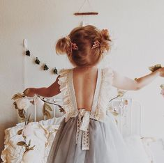 Looking for a unique flower girl dress? We can't get enough of the Amelie Dress! The perfect vintage tulle special occasion dress for any adorable little girl.