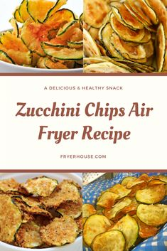 Zucchini Chips Air Fryer Recipe