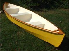 plywood canoes | Lynnhaven 16 stitch & glue plywood canoe plans