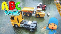 Dump truck ,Cranes, Songs for kids   Car videos for kids   Kids World