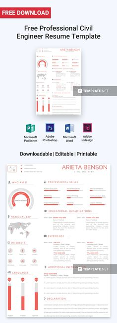 Free Simple Resume Stuff to buy Pinterest Simple resume - Job Resume Format Download