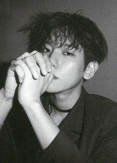 Image about exo in Baekhyun by weareone_life on We Heart It Taemin, Shinee, Chanbaek, Exo Ot12, Baekhyun, Capitol Records, Kris Wu, V Taehyung, K Pop