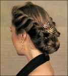 Hairstyles for long hair: more patterns ~ Craft , handmade blog