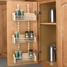 Optimizing Cabinet Space: Adjustable Spice Rack