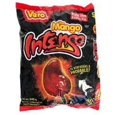 Buy Vero Mango Intenso Paletas Muy Picante Mexican candy lollipops at MexGrocer.com Mexican Candy, Snack Recipes, Snacks, Manga, Chips, House, Food, Pallets, Snack Mix Recipes