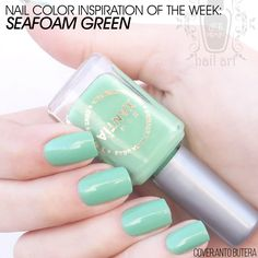 Why Seafoam Green is a polish you need to invest in :