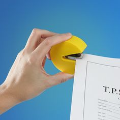 Pac-Man Stapler - Take My Paycheck - Shut up and take my money!   The coolest gadgets, electronics, geeky stuff, and more!