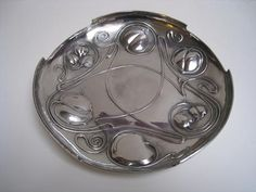 "TUDRIC 044 Pewter Tray ""The Bollellin"" by Knox for Liberty & Co"