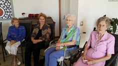 The ladies certainly enjoyed the tea and delicious goodies to eat with Lena #rubiconnelspruit #retirement #birthday