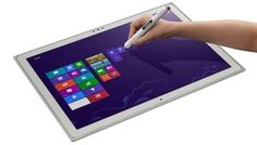 """Are you looking for a robust tablet computer? Panasonic at IFA 2013 announced very powerful 20"""" ToughPad 4K UT-MB5 Windows 8.1 tablet PC. It is most suitable for businesses, engineers, architects and artist and comes with a desktop cradle and electronic touch pen."""