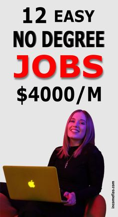 Are you looking for high paying jobs that do not require a degree? Here are 13 well paid jobs, full time jobs, work from home jobs, and online jobs for moms that pay good money and require no degree to start. Ideal jobs for moms, jobs for singles, jobs for dads and couples Start A Business From Home, Work From Home Jobs, Starting A Business, Business Planning, Online Jobs For Moms, Easy Online Jobs, Earn Extra Cash, Making Extra Cash, Min Ho
