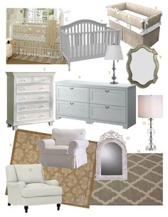 Products for a victorian neutral nursery