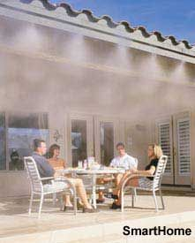 Diy patio mister patio cool kit do it yourself misting systems outdoor mister solutioingenieria Choice Image