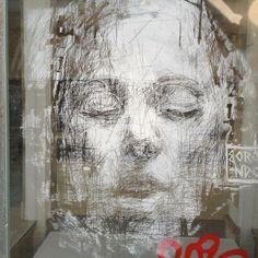 Borondo - Street Artist.  #borondo http://www.widewalls.ch/artist/borondo/