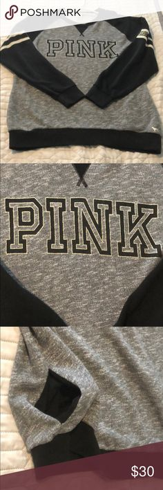 85e92ffcf04 Pink sweatshirt In good shape overall maybe very lt piling. This sweatshirt  is super cute