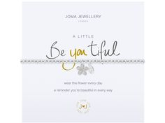 Joma Jewellery A Little XO Silver Bracelet with gift bag /& tag
