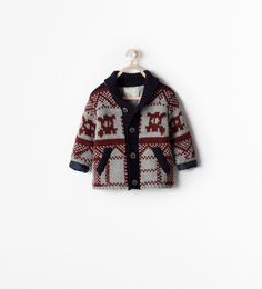 JACQUARD OUTERWEAR from Zara Baby Boy
