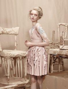 visual optimism; fashion editorials, shows, campaigns & more!: leaving home: anastazja niemen by lucia giacani for l'officiel ukraine june 2015