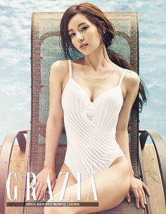 Nam Gyu Ri - Grazia Magazine July Issue '14