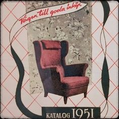 Vintage IKEA chair ad #IkeaChair Ikea Chair, Rattan, Vintage, Furniture, Home Decor, Ideas, Beauty, Wicker, Vintage Comics