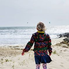 The great thing about a windy day at the beach is that there are often kite surfers to watch... If you can manage to stand still long…