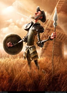 There is something to be said after all for living life like Don Quixote. At least, one is never bored.