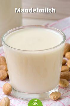 Mandeln schützen vor Diabetes und verbessern die Darmflora. Hier ein veganes Rezept von der Mandelmilch. Diabetes, Homemade