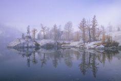 Leprechaun Lake in the Enchantments. Washington State, Cascade Mountains